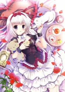 Rating: Safe Score: 53 Tags: dress mizusawa_mimori neko User: Twinsenzw