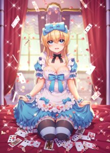 Rating: Safe Score: 26 Tags: alice alice_in_wonderland cleavage skirt_lift tagme thighhighs User: Mr_GT