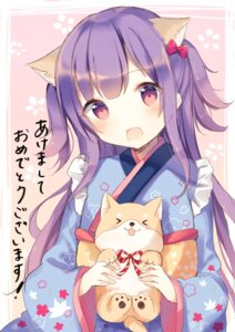 Rating: Safe Score: 44 Tags: animal_ears kanadetsuki_shion kimono User: Mr_GT