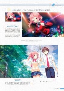 Rating: Safe Score: 9 Tags: digital_version koi_kakeru_shin-ai_kanojo kurasawa_moko seifuku shindou_ayane umbrella us:track User: Twinsenzw