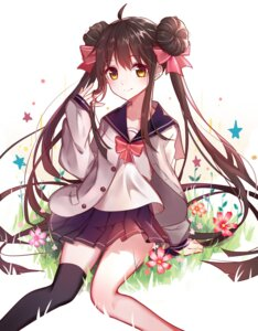 Rating: Safe Score: 55 Tags: akira_(ying) seifuku thighhighs User: nphuongsun93