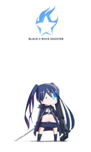 Rating: Safe Score: 15 Tags: black_rock_shooter black_rock_shooter_(character) chibi pomon_illust sword vocaloid User: Radioactive