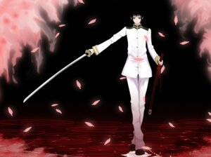 Rating: Safe Score: 10 Tags: hetalia_axis_powers japan male sword umeichi_akira User: Brufh