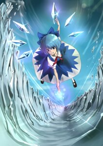 Rating: Safe Score: 7 Tags: cirno koenigsegg touhou wings User: charunetra