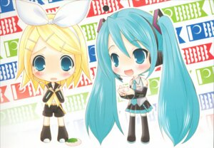 Rating: Safe Score: 6 Tags: hapido hatsune_miku kagamine_rin vocaloid User: petopeto