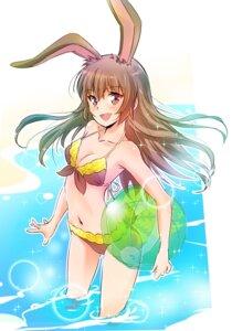 Rating: Safe Score: 13 Tags: animal_ears bikini bunny_ears cleavage iesupa rwby swimsuits wet User: saemonnokami