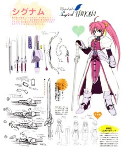 Rating: Safe Score: 3 Tags: character_design mahou_shoujo_lyrical_nanoha mahou_shoujo_lyrical_nanoha_a's signum User: admin2