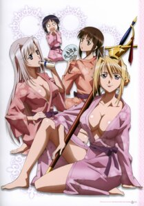 Rating: Questionable Score: 54 Tags: charlotte_hazelrink cleavage fujikura_yuu no_bra open_shirt princess_lover! robe screening seika_houjouin sword sylvia_van_hossen User: YamatoBomber