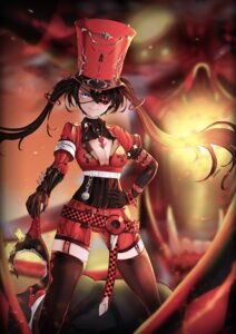 Rating: Safe Score: 25 Tags: cleavage eyepatch panamuru stockings thighhighs weapon User: Mr_GT