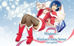 Rating: Safe Score: 35 Tags: christmas madobe_nanami microsoft os-tan thighhighs wakaba User: nanami_windows7