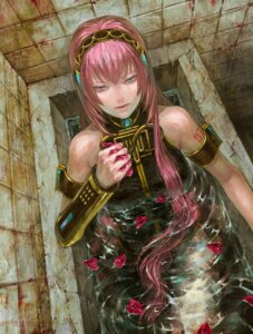 Rating: Safe Score: 17 Tags: megurine_luka vocaloid wet_clothes zain User: Radioactive