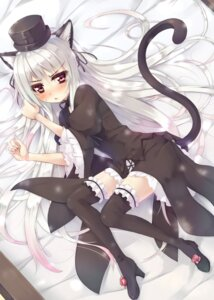 Rating: Safe Score: 29 Tags: animal_ears asa_(swallowtail) gothic_lolita lolita_fashion nekomimi rozen_maiden suigintou thighhighs User: demon2