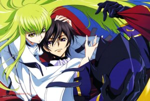 Rating: Safe Score: 27 Tags: c.c. code_geass kimura_takahiro lelouch_lamperouge wada_naoya User: drop