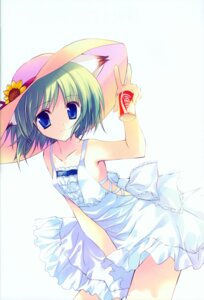 Rating: Safe Score: 24 Tags: animal_ears dress greenwood midori nekomimi rei summer_dress User: cheese