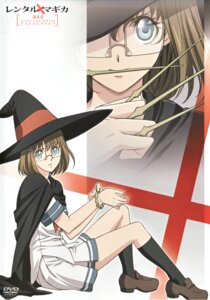 Rating: Safe Score: 5 Tags: honami_takase_ambler megane rental_magica seifuku witch User: Radioactive