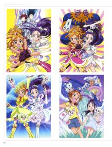Rating: Questionable Score: 2 Tags: bike_shorts dress futari_wa_pretty_cure_splash_star pointy_ears pretty_cure User: drop