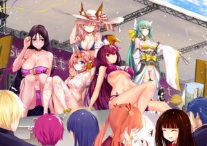 Rating: Questionable Score: 75 Tags: berserker_of_black_(fate/apocrypha) bikini cleavage crossover erect_nipples fate/grand_order gilgamesh_(fsn) horns japanese_clothes kagurazaka_asuna kiyohime_(fate/grand_order) konoe_konoka lancer mahou_sensei_negima minamoto_no_raikou_(fate/grand_order) naked_ribbon onceskylark open_shirt saiki_kusuo saiki_kusuo_no_psi_nan scathach_(fate/grand_order) seifuku swimsuits tamamo_no_mae teruhashi_kokomi underboob User: BattlequeenYume