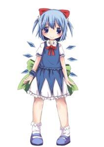 Rating: Safe Score: 17 Tags: cirno sakuraba_hikaru touhou User: SciFi
