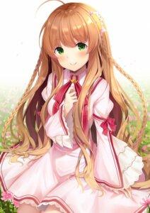 Rating: Safe Score: 32 Tags: breast_hold kanbe_kotori koki_(latte1023) rewrite seifuku User: Arsy
