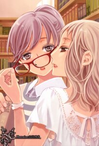 Rating: Safe Score: 21 Tags: hibiki_reine megane yuri User: Radioactive