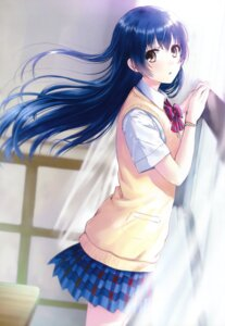 Rating: Safe Score: 49 Tags: kazuharu_kina love_live! seifuku sonoda_umi User: Twinsenzw