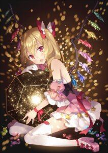 Rating: Safe Score: 71 Tags: flandre_scarlet heels rie thighhighs touhou wings User: Mr_GT