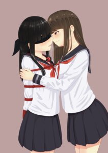 Rating: Safe Score: 40 Tags: bondage minagiku seifuku yuri User: Mr_GT