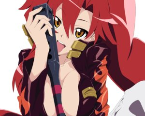 Rating: Questionable Score: 32 Tags: cleavage no_bra tengen_toppa_gurren_lagann touhu vector_trace yoko User: Radioactive