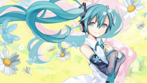 Rating: Safe Score: 25 Tags: hatsune_miku headphones kari_kenji vocaloid User: Mr_GT