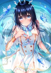 Rating: Questionable Score: 13 Tags: dress ktmzlsy720 see_through wet wet_clothes User: BattlequeenYume