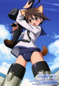 Rating: Questionable Score: 19 Tags: miyafuji_yoshika strike_witches takamura_kazuhiro User: admin2