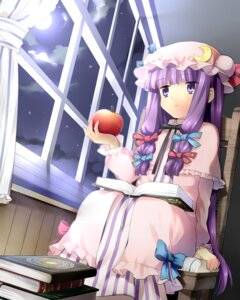 Rating: Safe Score: 18 Tags: hanabana_tsubomi patchouli_knowledge touhou User: Manabi