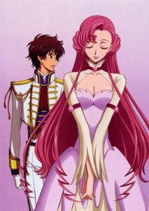 Rating: Safe Score: 16 Tags: code_geass dress euphemia_li_britannia kururugi_suzaku nakatani_seiichi User: vita