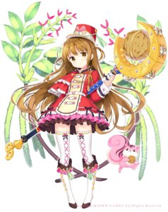 Rating: Safe Score: 32 Tags: dress flower_knight_girl kimishima_ao thighhighs weapon User: Nepcoheart