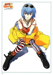 Rating: Safe Score: 19 Tags: ayanami_rei neon_genesis_evangelion thighhighs User: oldwrench