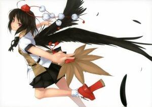 Rating: Safe Score: 28 Tags: enhance_heart rokuwata_tomoe shameimaru_aya touhou wings User: midzki