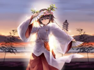 Rating: Safe Score: 23 Tags: amatsume_akira miko sphere wallpaper yosuga_no_sora yuugen User: Kalafina