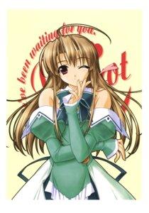 Rating: Safe Score: 13 Tags: hashimoto_takashi pia_carrot pia_carrot_3 takai_sayaka waitress User: androgyne