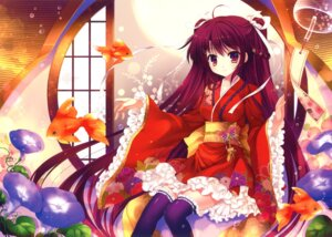 Rating: Safe Score: 70 Tags: kimono mitha thighhighs User: WtfCakes