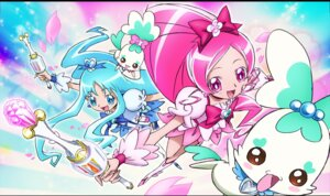 Rating: Safe Score: 6 Tags: hanasaki_tsubomi heartcatch_pretty_cure! jpeg_artifacts kurumi_erika pretty_cure umakoshi_yoshihiko User: Onpu