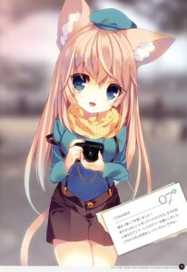 Rating: Safe Score: 33 Tags: animal_ears nekomimi p19 tail User: charunetra