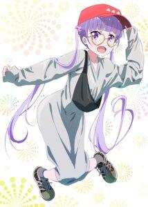 Rating: Safe Score: 32 Tags: makicha megane new_game! suzukaze_aoba User: saemonnokami