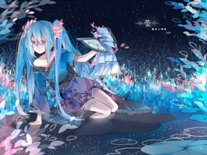Rating: Safe Score: 27 Tags: hatsune_miku kimono tang_elen vocaloid User: DragonSushi