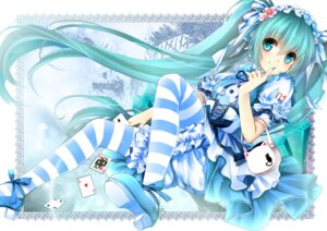 Rating: Safe Score: 77 Tags: bloomers gyaza hatsune_miku lolita_fashion pantyhose vocaloid User: Radioactive