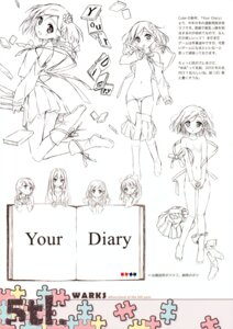 Rating: Questionable Score: 25 Tags: 5_nenme_no_houkago ayase_sayuki hirosaki_kanade kantoku loli minagawa_yuuhi monochrome naked naked_ribbon nipples no_bra pantsu panty_pull seifuku shirt_lift sketch undressing your_diary yua User: Kalafina