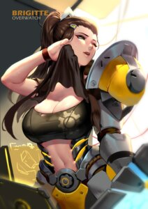 Rating: Safe Score: 27 Tags: armor brigitte_(overwatch) cianyo cleavage overwatch shirt_lift torn_clothes User: Mr_GT