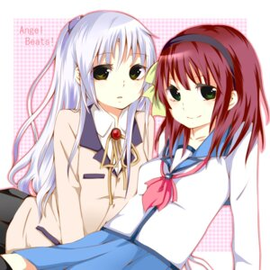 Rating: Safe Score: 12 Tags: angel_beats! richard_(artist) seifuku tenshi yurippe User: Ponnkun
