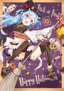 Rating: Safe Score: 20 Tags: animal_ears halloween nanakagura tail thighhighs witch User: Mr_GT