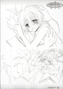 Rating: Questionable Score: 3 Tags: bathing monochrome naked sakurazawa_izumi sketch wanko_to_lily User: admin2