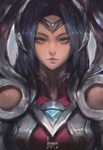 Rating: Safe Score: 8 Tags: armor irelia league_of_legends seuyan signed User: charunetra